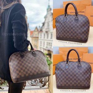 💎✨RARE✨💎 Louis Vuitton Auth Damier Ebene Alma!